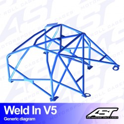 Roll Cage AUDI A4 / S4 (B5)...