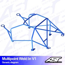 Roll Cage Opel Vectra (A)...